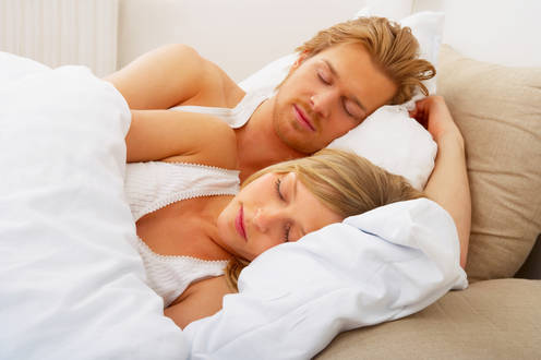 Sex with someone sleeping